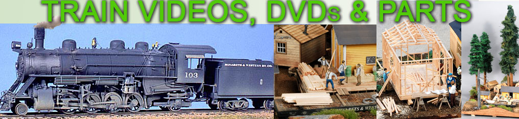 Railroad Train DVDs & Movies, Model Steam Locomotive Painting Tips