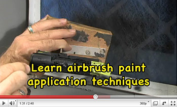 How To Paint a Model Steam Locomotive Train