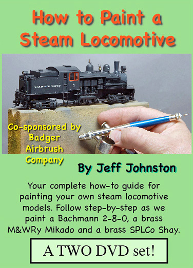 How To Paint A Model Train Or Steam Locomotive Dvd