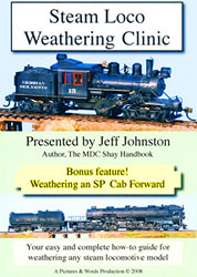 Steam Weathering Clinic Train DVD